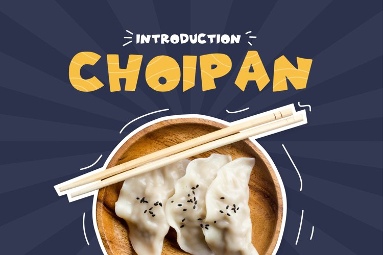 Choipan-Display Font example image 1