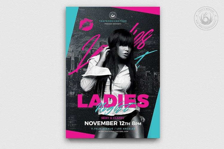 Ladies Night Flyer Template V8