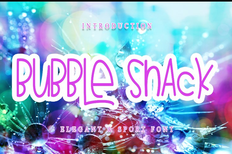 Bubble Snack example image 1