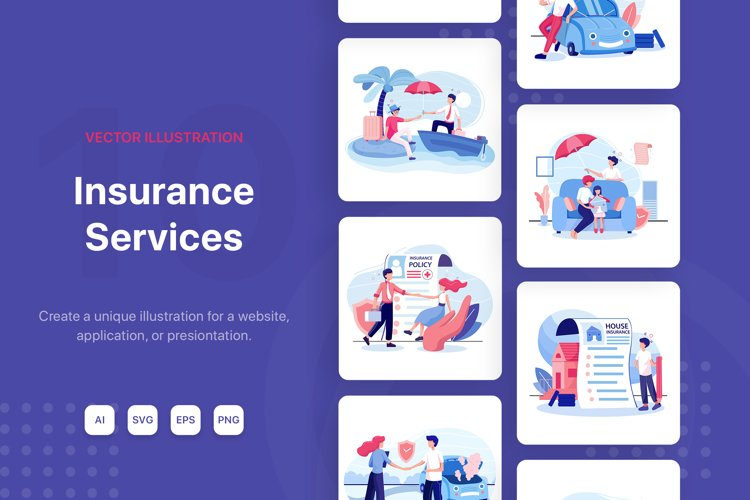 Insurance Services Illustration