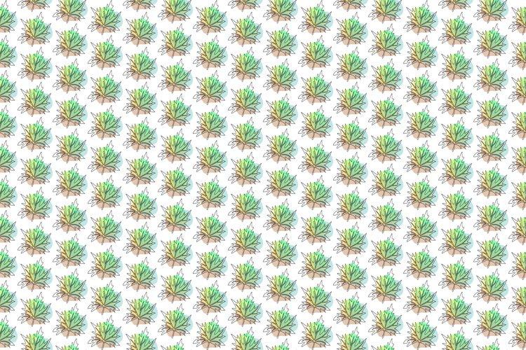 Seamless Vector Tropical Pattern Design.