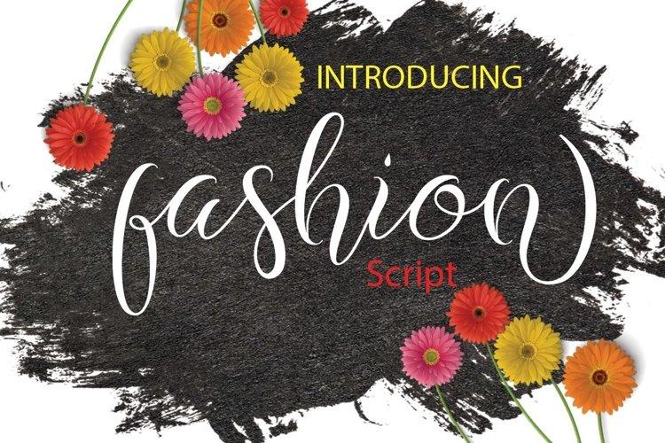 Web Font Fashion example image 1