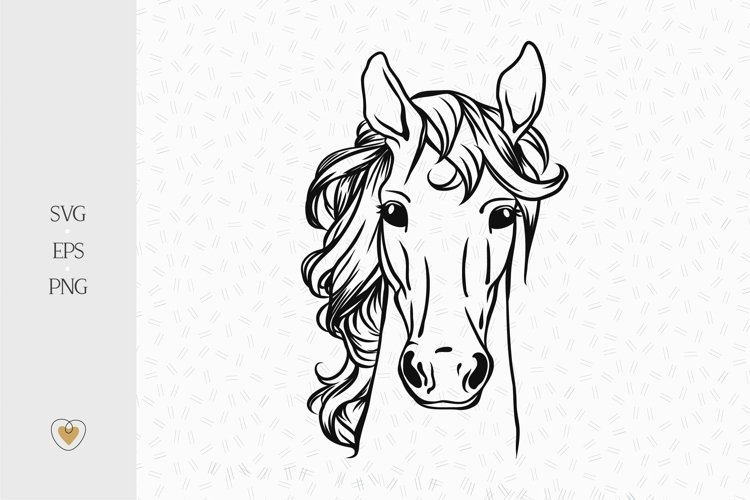 Horse svg, Horse png, Horse head svg, Svg files for cricut
