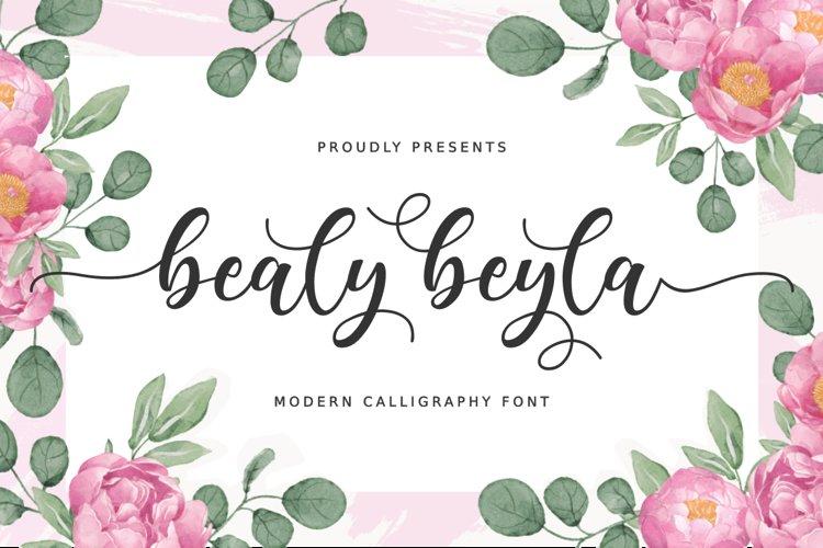 Bealy Beyla example image 1