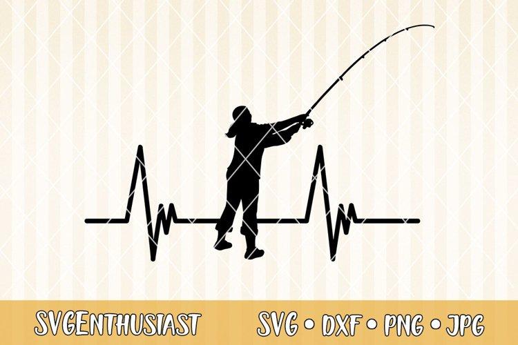 Download Fisher Woman Heartbeat Svg Cut File 298375 Svgs Design Bundles