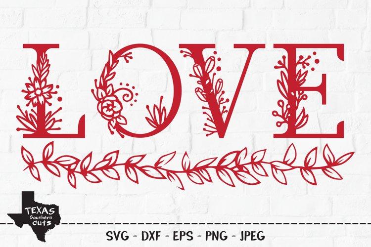 Love SVG, Cut File, Valentines Shirt Design example image 1