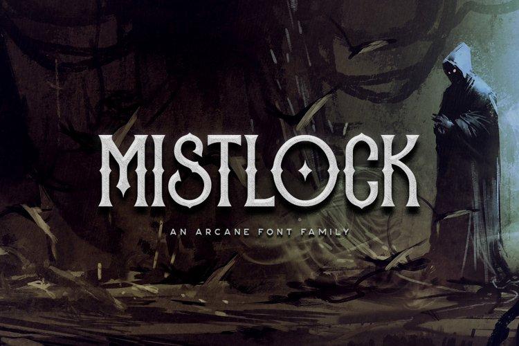 Mistlock Typeface example image 1