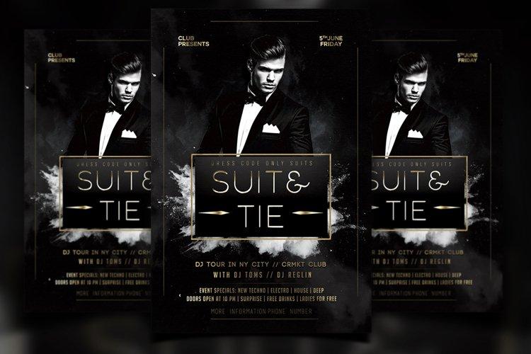 Suit&Tie Flyer example image 1