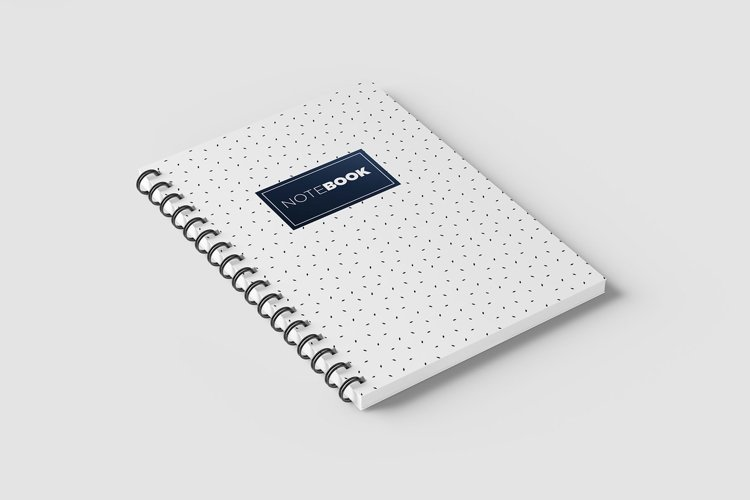 Notebook Spiral A4 example image 1