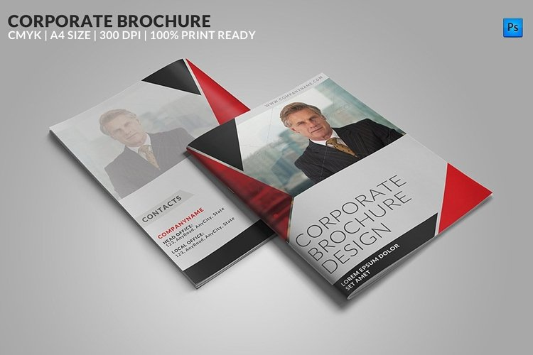 8 Page Corporate Bifold Brochure example image 1