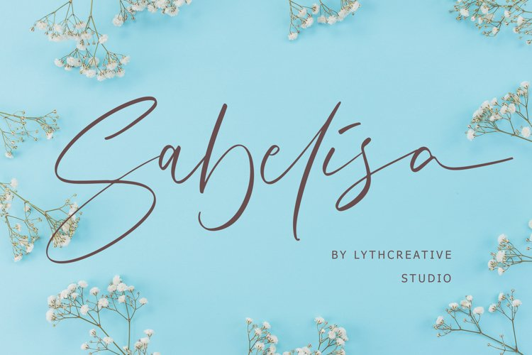 Sabelisa Script Font example image 1