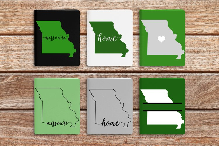 State of Missouri SVG File Cutting Template example image 1