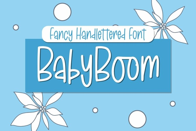 Web Font BabyBoom - Fancy Font example image 1