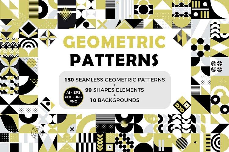 240 Eye Catching Seamless Geometric Patterns