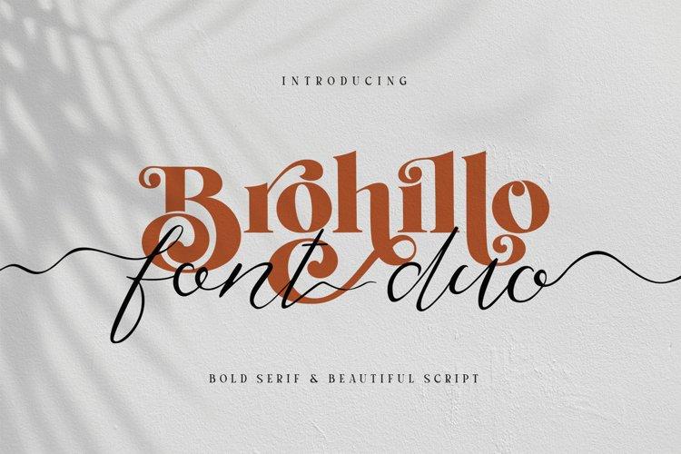 Brohillo Font Duo example image 1