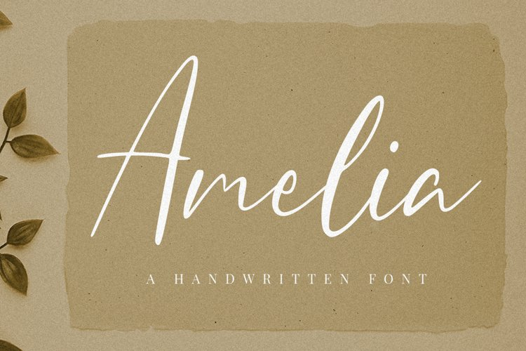 Amelia Script example image 1