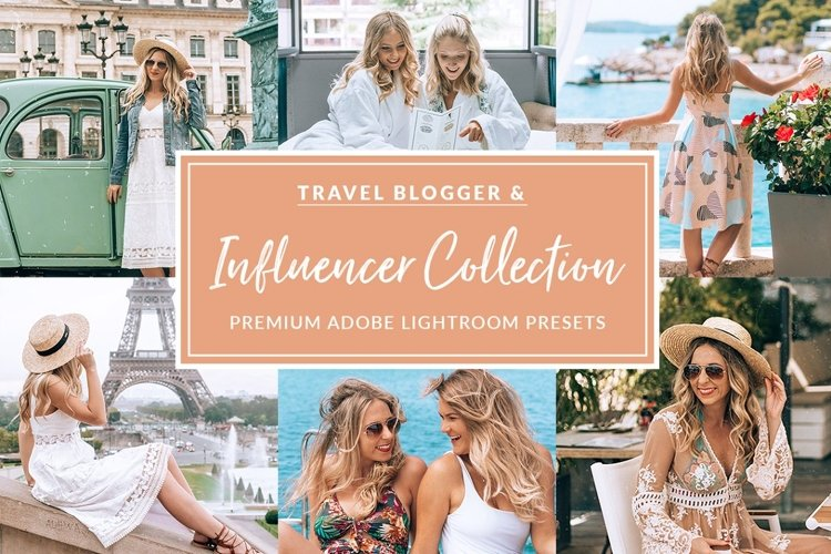 The Travel Influencer Lightroom Pack