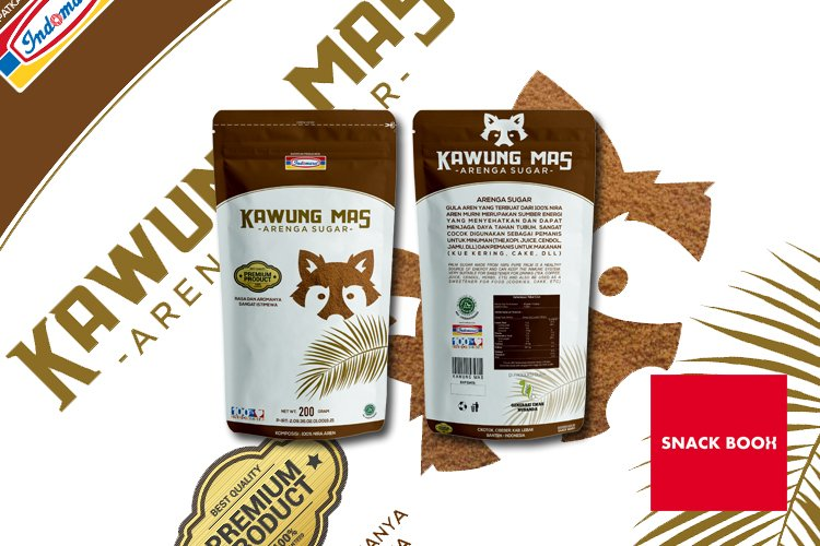 kawung mas packaging design example image 1