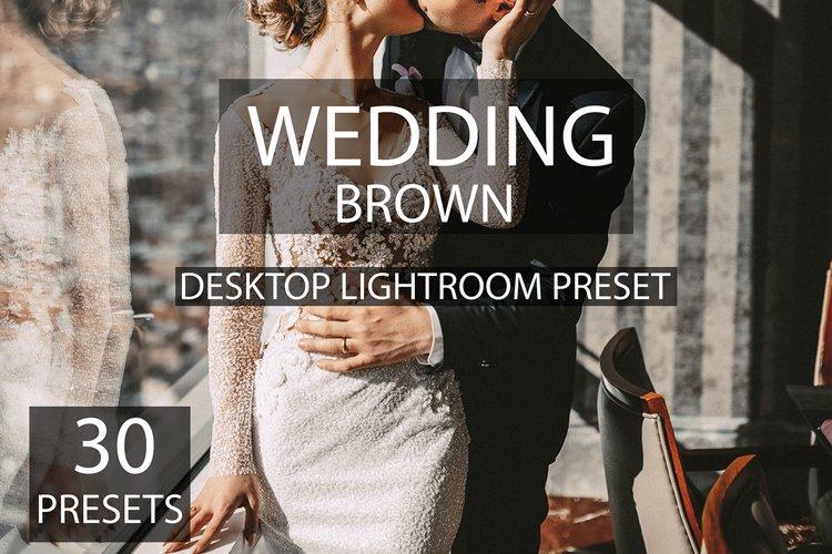 30 desktop lightroom wedding brown presets