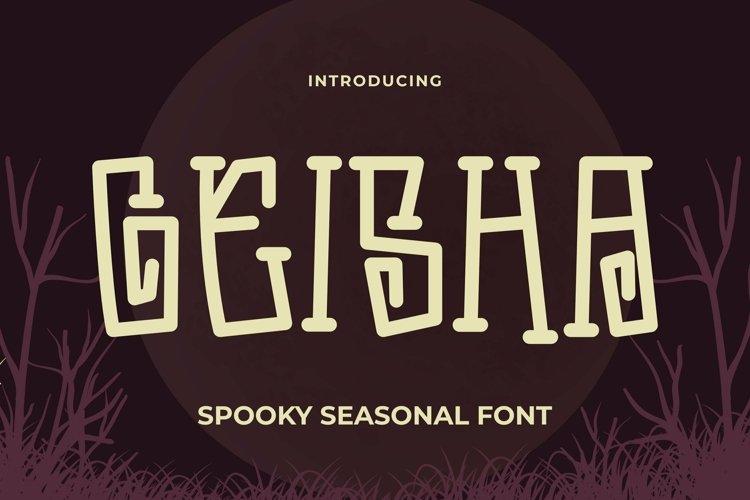 Web Font Geisha Font example image 1