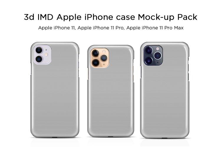 Apple iPhone Case Mock-ups Pack V3 example image 1