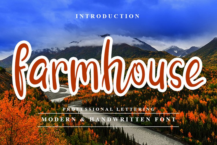 Farmhouse - Modern Farm Font example image 1