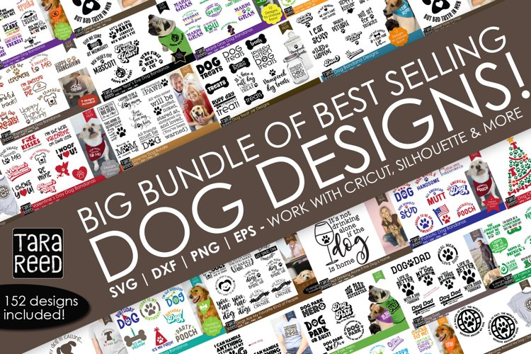 Best Seller Dog Designs - Cut Files for Crafters