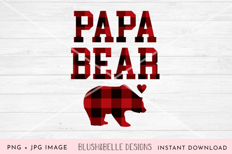 Papa Bear PNG, JPG example image 1
