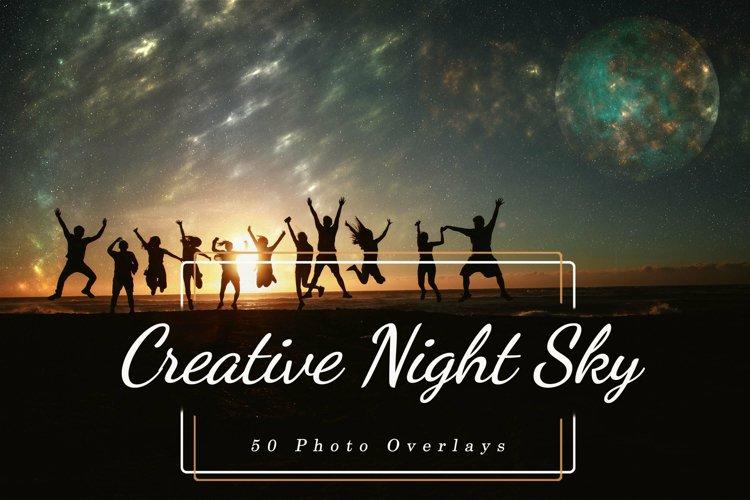 50 Creative Night Sky, Add Starry Sky To Photo, Moon Overlay
