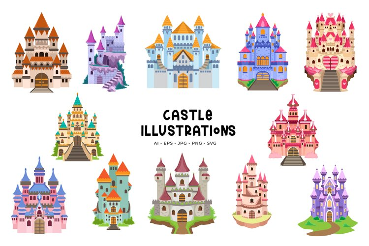 Castle Illustrations