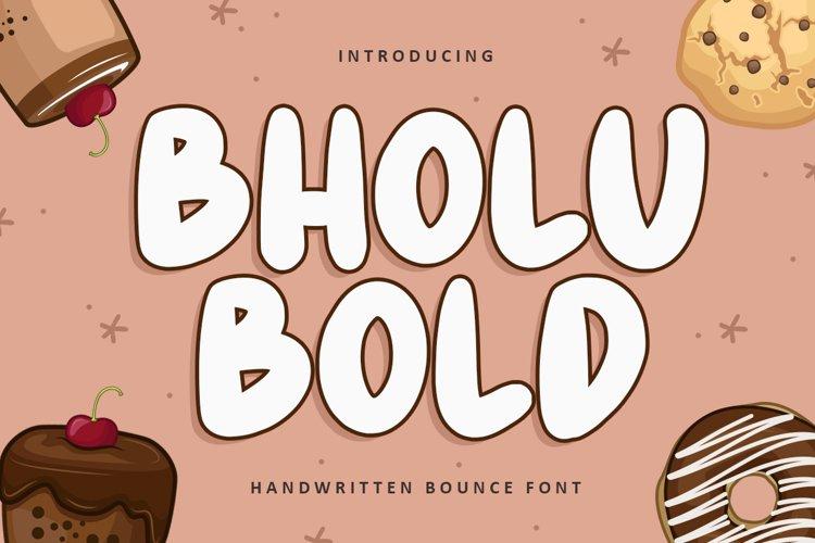 Bholu Bold example image 1