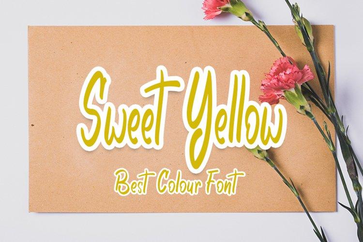 Sweet Yellow example image 1