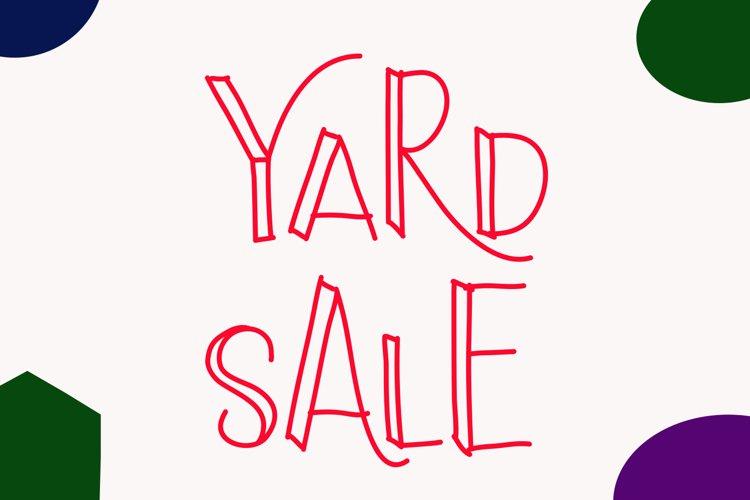 Yard Sale example image 1