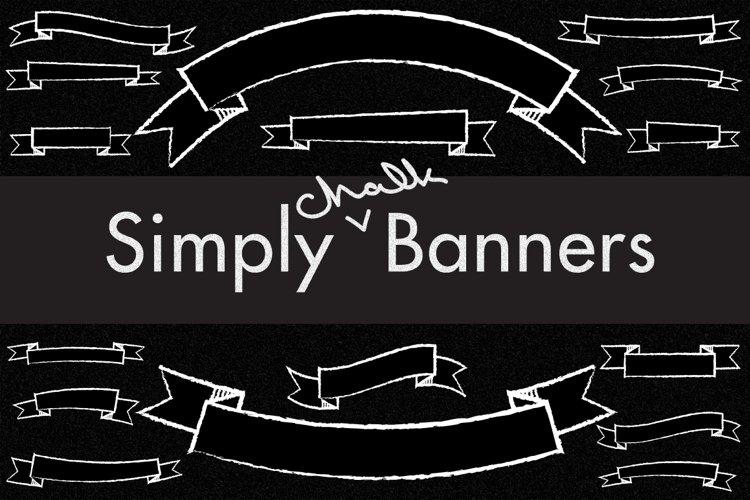 112 Chalkboard Banners example image 1