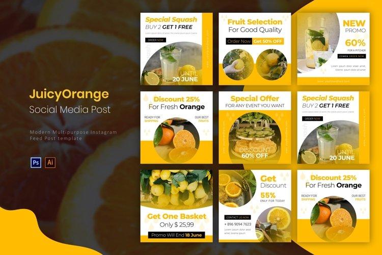Juicy Orange   Instagram Post example image 1