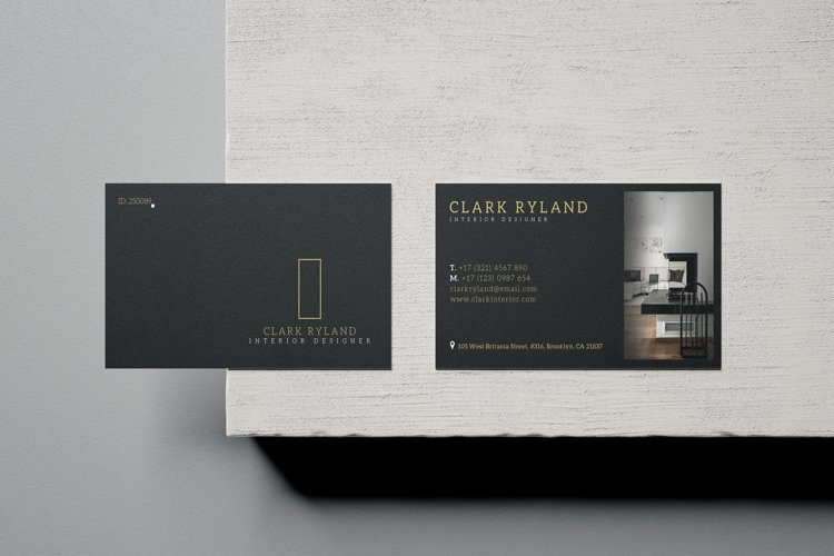 Interior Design Business Card - Vol.17 example image 1