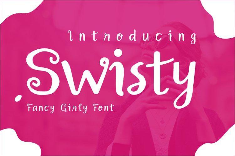 Swisty Font example image 1