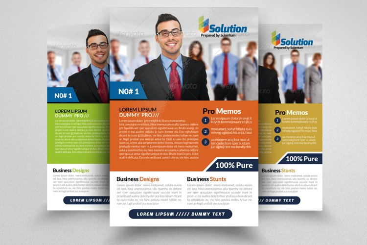Auditing Firm Flyer & Ad Poster example image 1