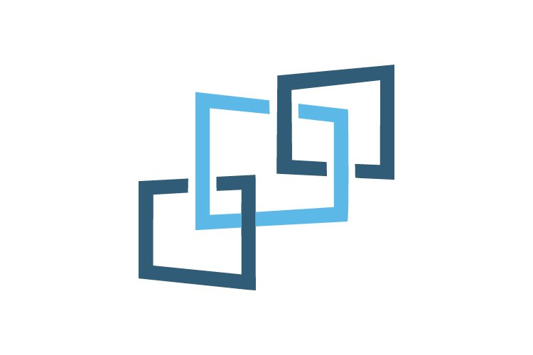 square logo and abstract logo example image 1