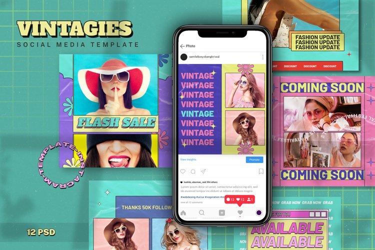 Vintagies Social Media Template