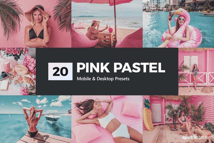 Pink Pastel Lightroom Presets & LUTs example image 1