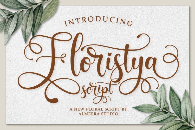 Floristya Script example image 1