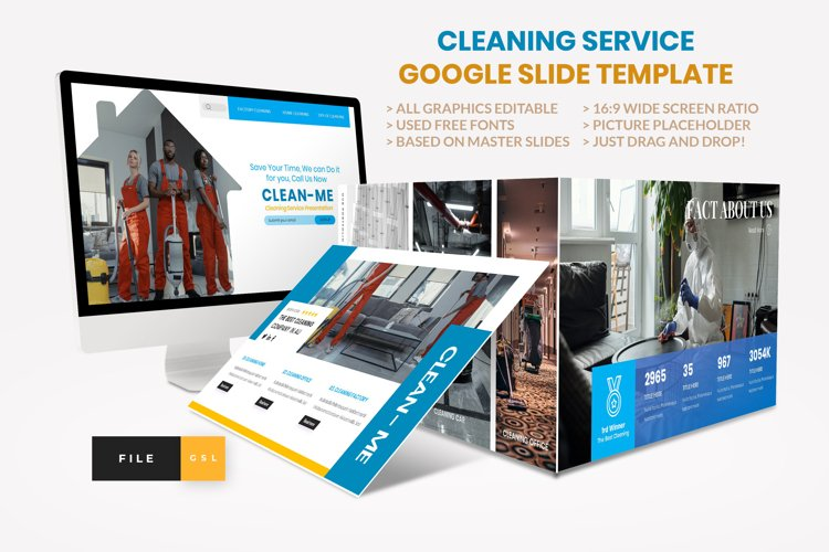 Cleaning Service Google Slide Template