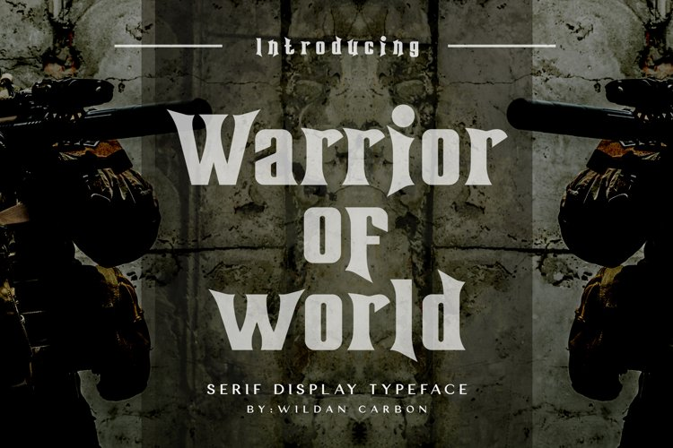 Warrior of World example image 1