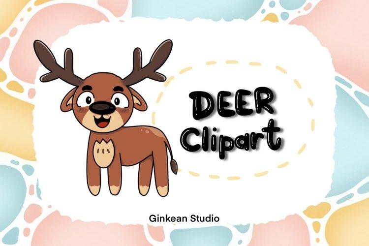 Deer clipart, deer png, digital sticker, sticker,sublimation