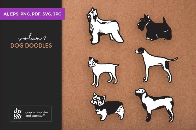 Dog Shapes SVG - Dog Doodles for Cricut