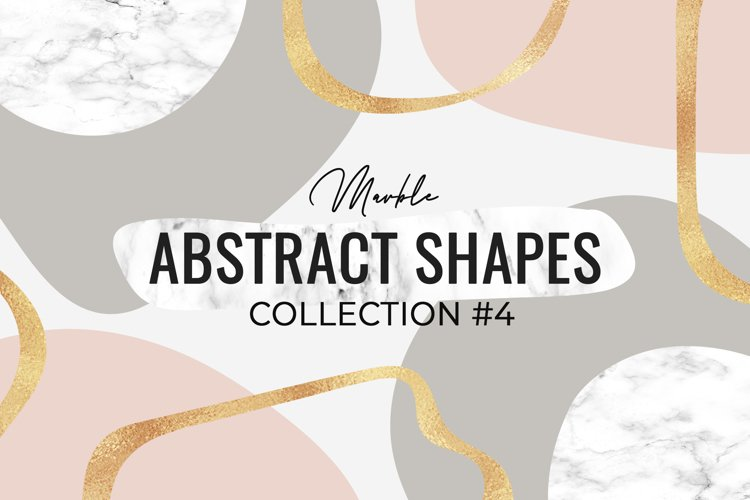 Marble Abstract shapes collection #4