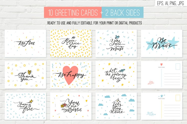 10 overlays, cards and tags example 3