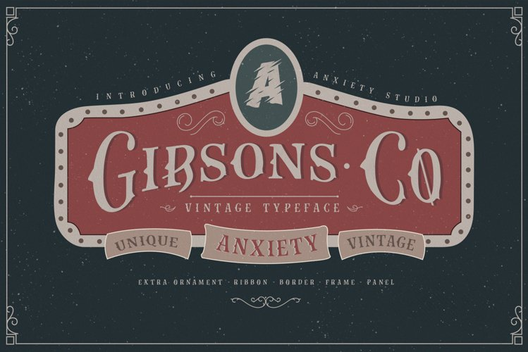 Gibsons Co Extra Ornament example image 1