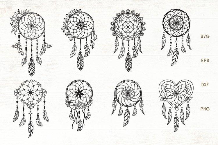 Floral Dreamcatcher SVG Bundle